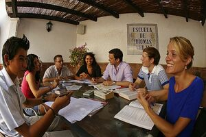 Language schooll in Spain
