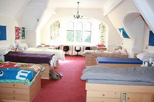 Schlafräume in der Residenz